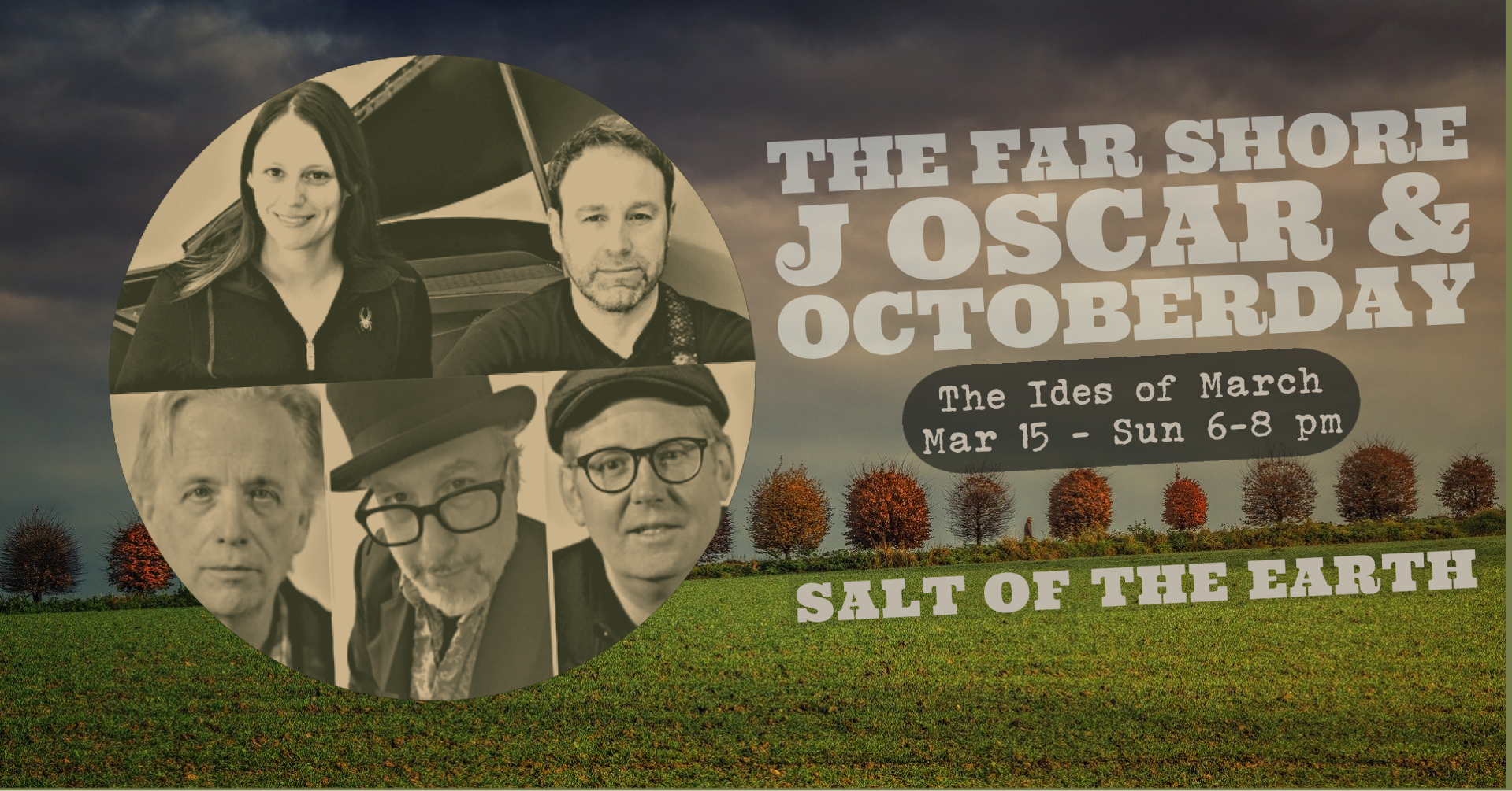 J Oscar & OctoberDay at Salt of the Earth September 27, 2020